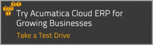 Acumatica Cloud ERP Free Trial