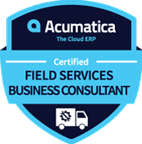 Acumatica Certified Field Services Business Consultant