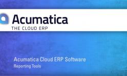Acumatica Reporting Tools