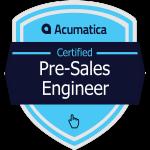 Acumatica Pre-Sales Engineer Badge