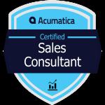 Acumatica Sales Consultant Badge
