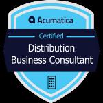 Acumatica Distribution Business Consultant Badge