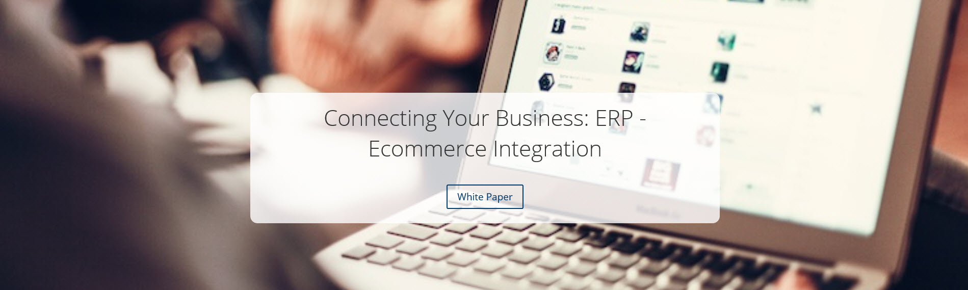 Integrated ERP and Ecommerce