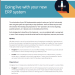 Going Live with Your ERP System White Paper