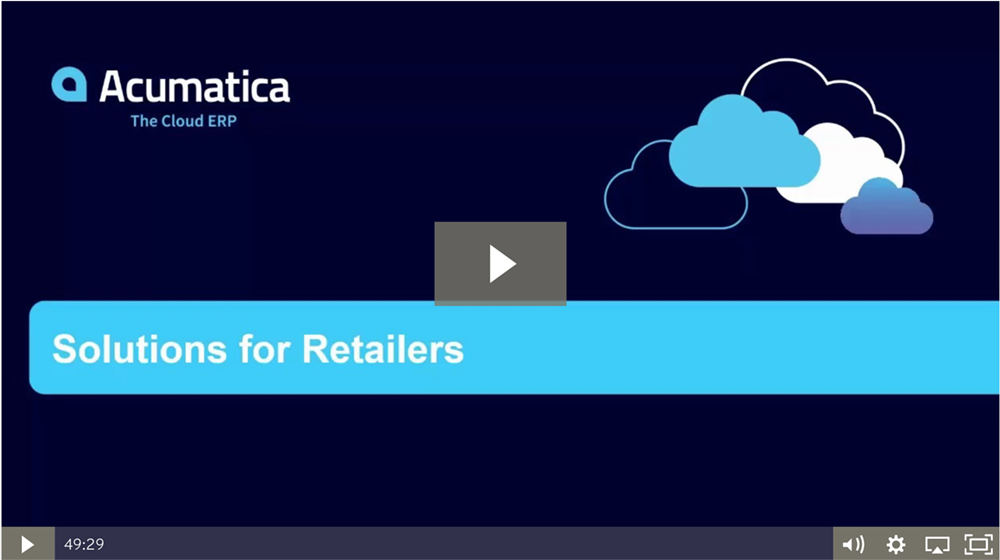 Solutions for Retailers Grow Your Business in the Cloud Webinar