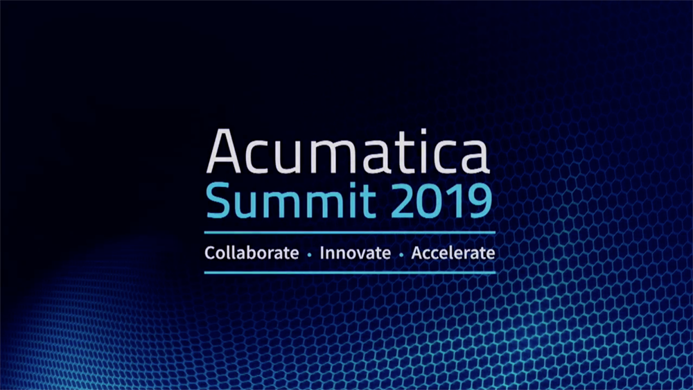 Acumatica Summit 2019 Keynote