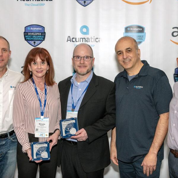 Dynamic Tech Services Wins MVP Awards at Acumatica Summit