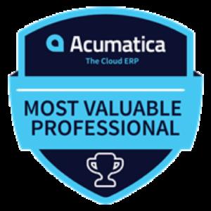 Acumatica MVP 2019