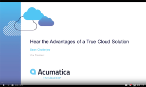 Comparing Acumatica Sage 100