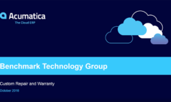 Benchmark Technology Group Acumatica Case Study