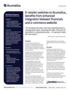 Northern Express Acumatica Case Study
