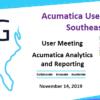 Acumatica User Group Southeast Meeting