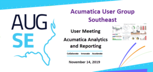 Acumatica User Group Southeast
