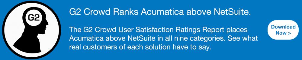 G2 Crowd Acumatica NetSuite