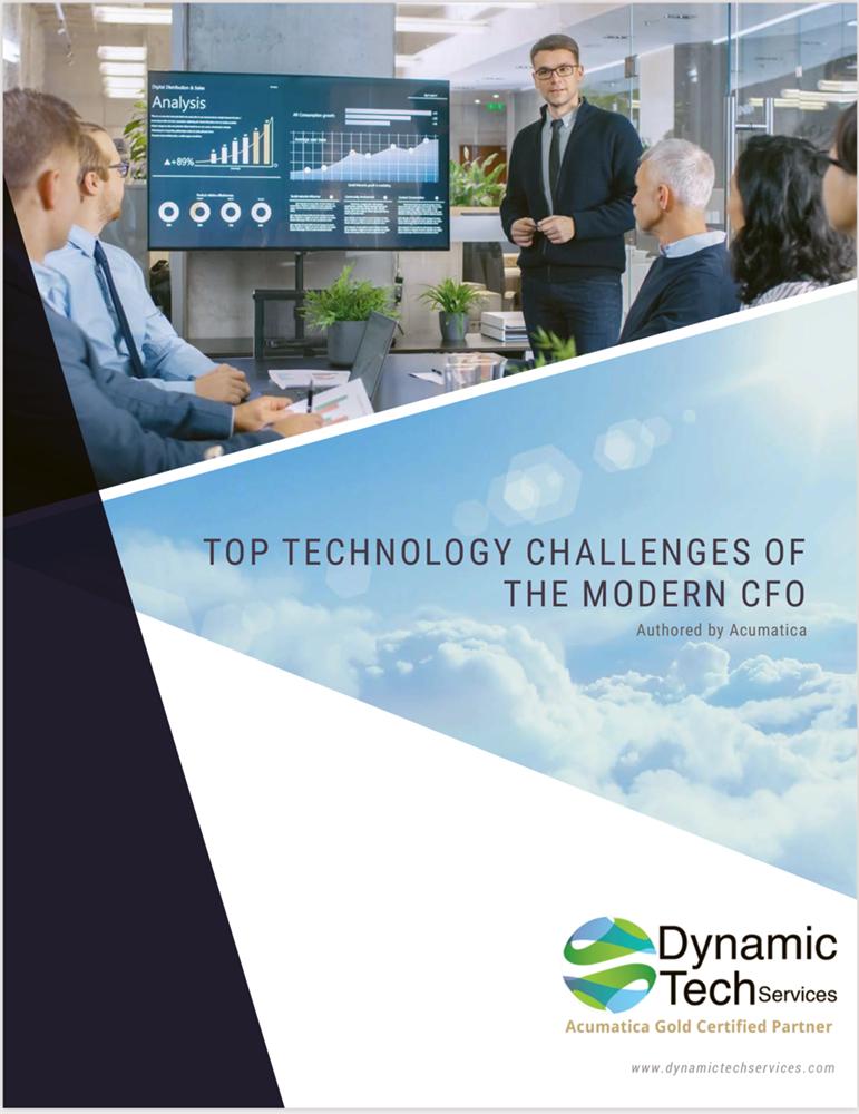 Top Technology Challenges Modern CFO eBook