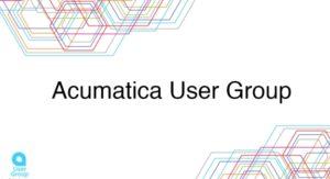 Acumatica User Group Event