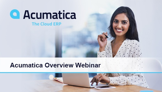 Acumatica Cloud ERP Overview Webinar