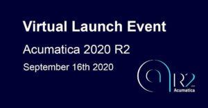 Acumatica 2020 R2 Virtual Launch Event