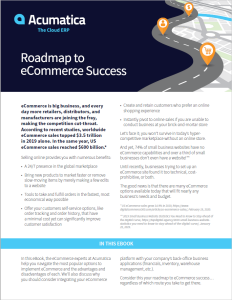 Roadmap to eCommerce Success