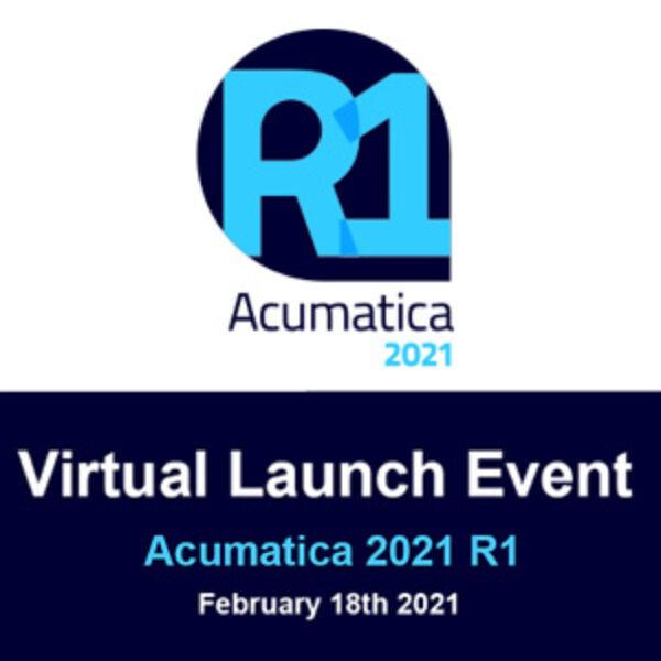 Acumatica 2021 R1 Virtual Launch Event