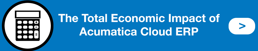 Total Economic Impact Acumatica
