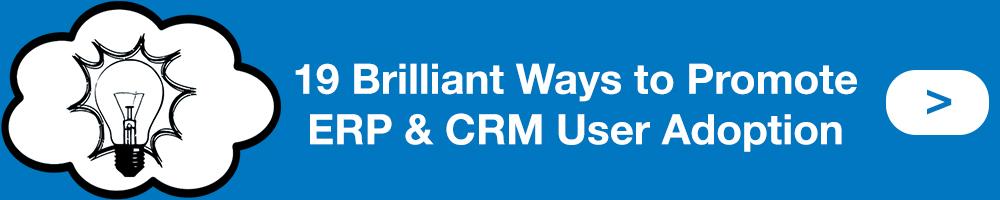 19 Brilliant Ways to Promote ERP CRM User Adoption Button