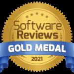 SoftwareReviews Magic Quadrant Gold Medal 2021