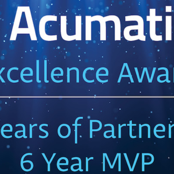Dynamic Tech Services Recognized with Acumatica Excellence 10-Year Award